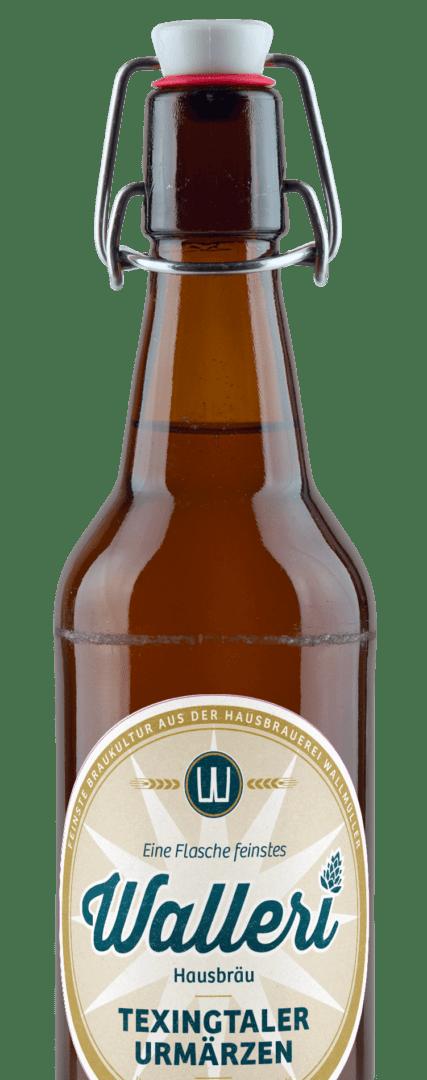 Der Klassiker unter den Craft Bieren sowie von Walleri's Hausbräu - Das Texingtaler Urmärzen.
