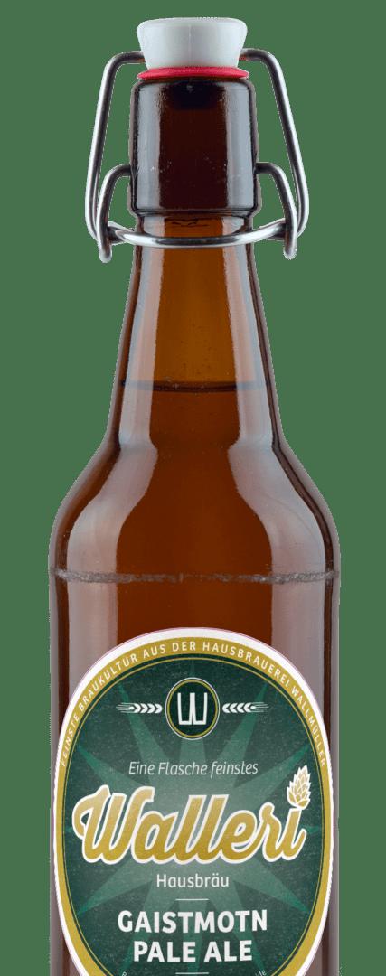 Das Gaistmotn Pale Ale von der Brauerei im Texingtal Walleri's Hausbräu