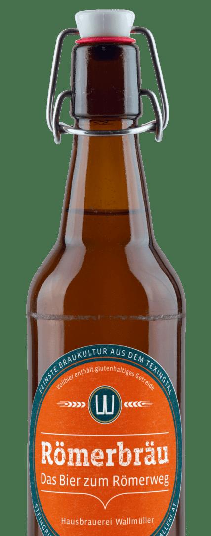 Das Craft Bier zum bekannten Römerweg aus der Texingtaler Brauerei Walleri's Hausbräu.